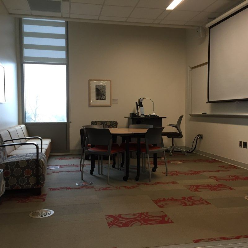 Photo of a Presentation Practice Room